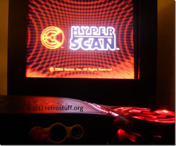 HyperScan - startup screen