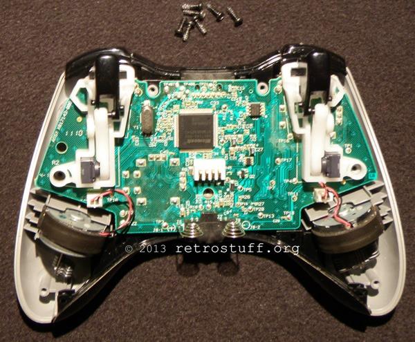 Repair an Xbox 360 Controller - retrostuff
