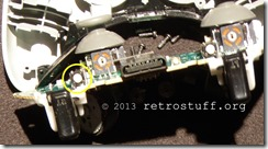 Xbox 360 Controller inside