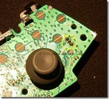 Trigger pot solder points