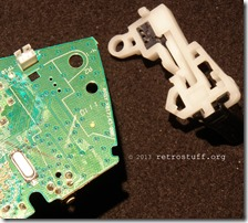 Trigger assembly removed