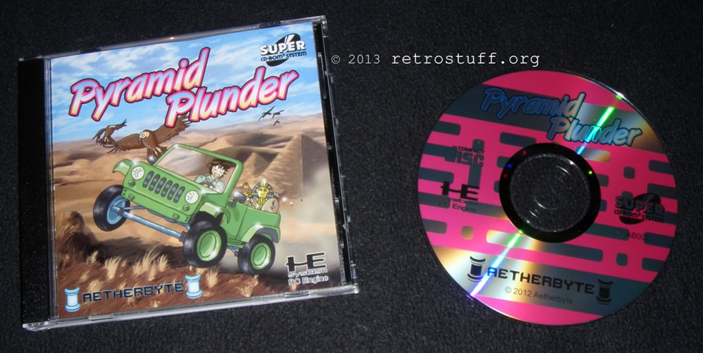Pyramid Plunder and ReVival Chase Super CD-ROM² - retrostuff