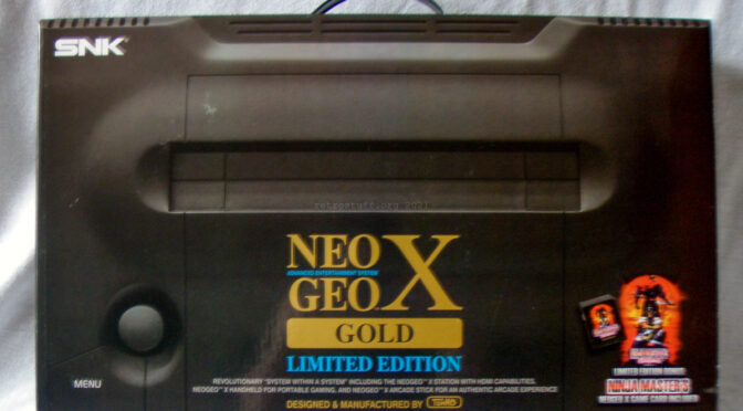 Neo Geo X Gold Limited Edition