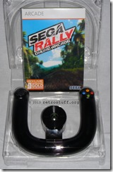 SEGA Rally Online Arcade and the Microsoft Wireless Speed Wheel