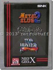 Neo Geo X Classics Vol. 1 Front