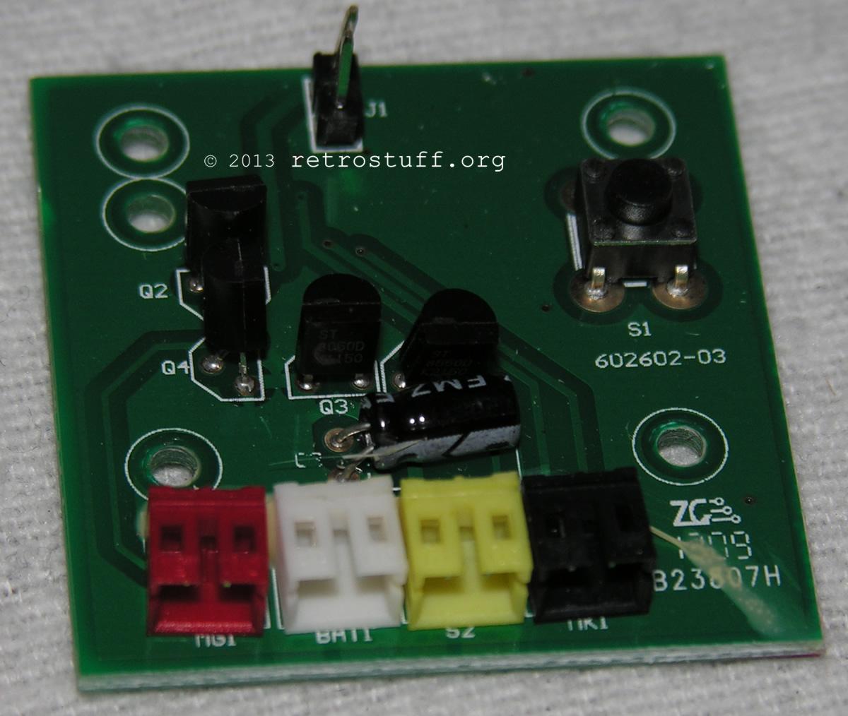 Mocoro PCB front