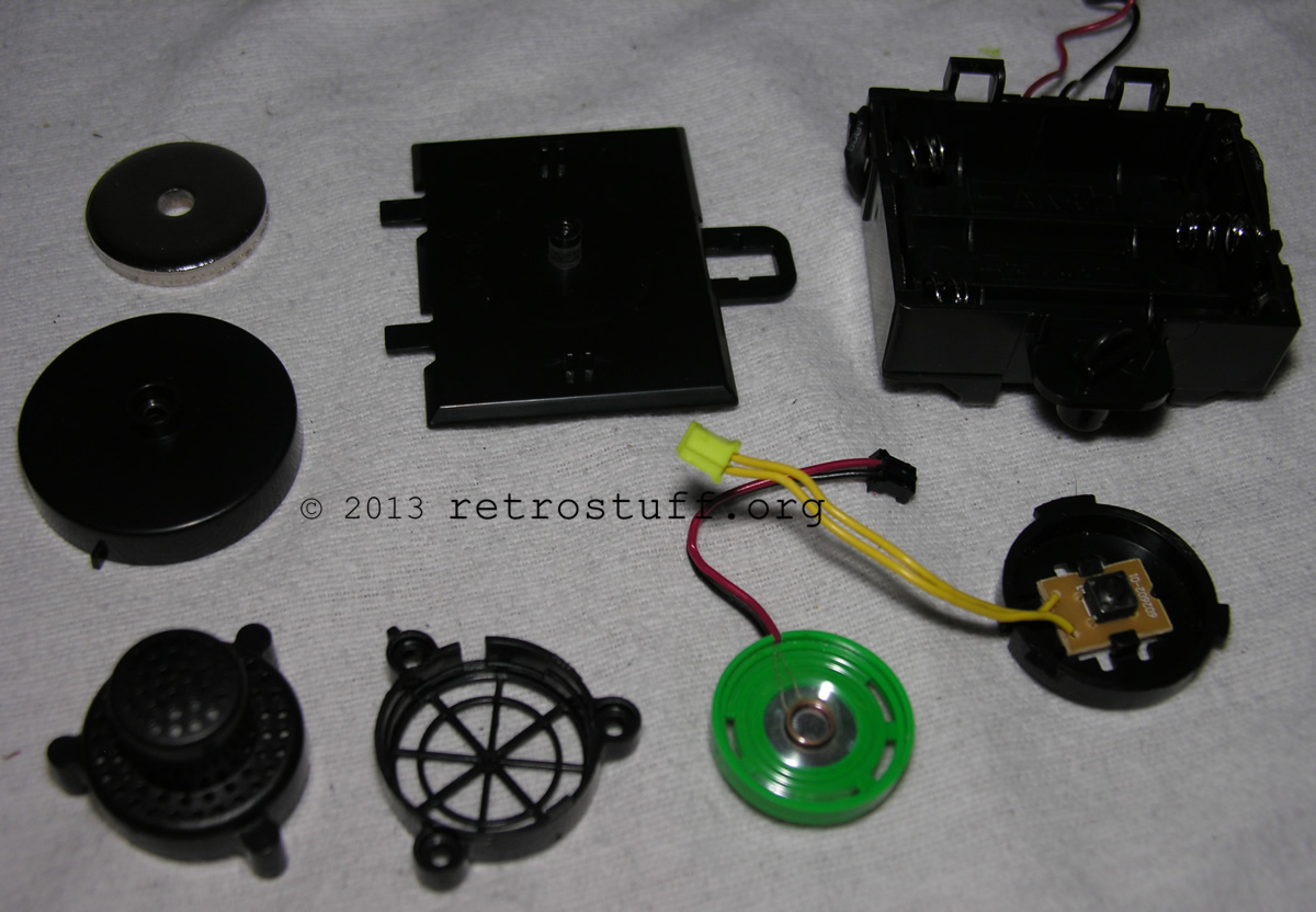 All components taken apart further
