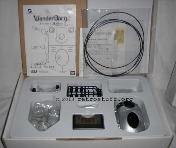 WonderBorg contents