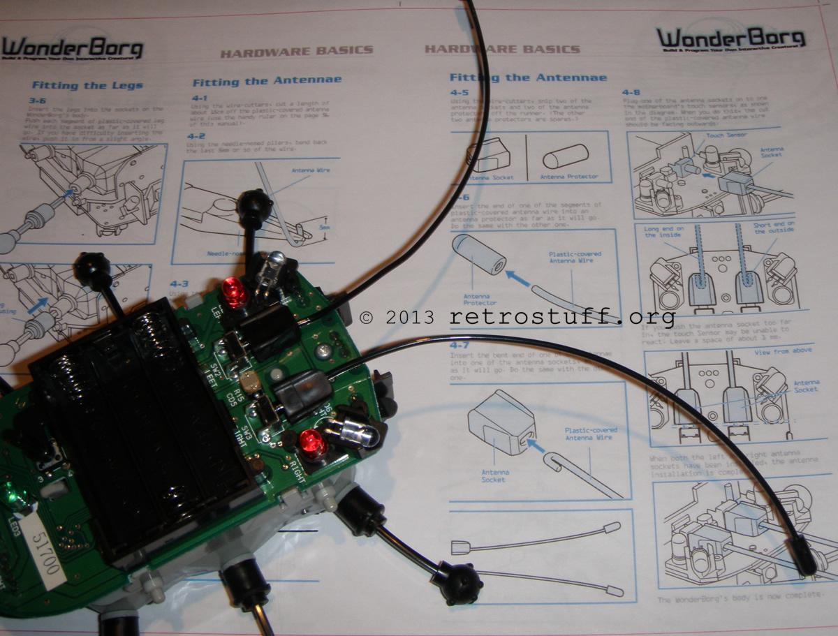 WonderBorg with antennae