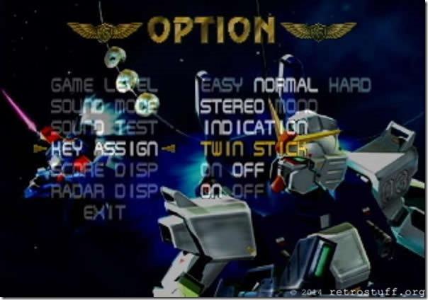 Twin-Stick Gundam Gaiden III