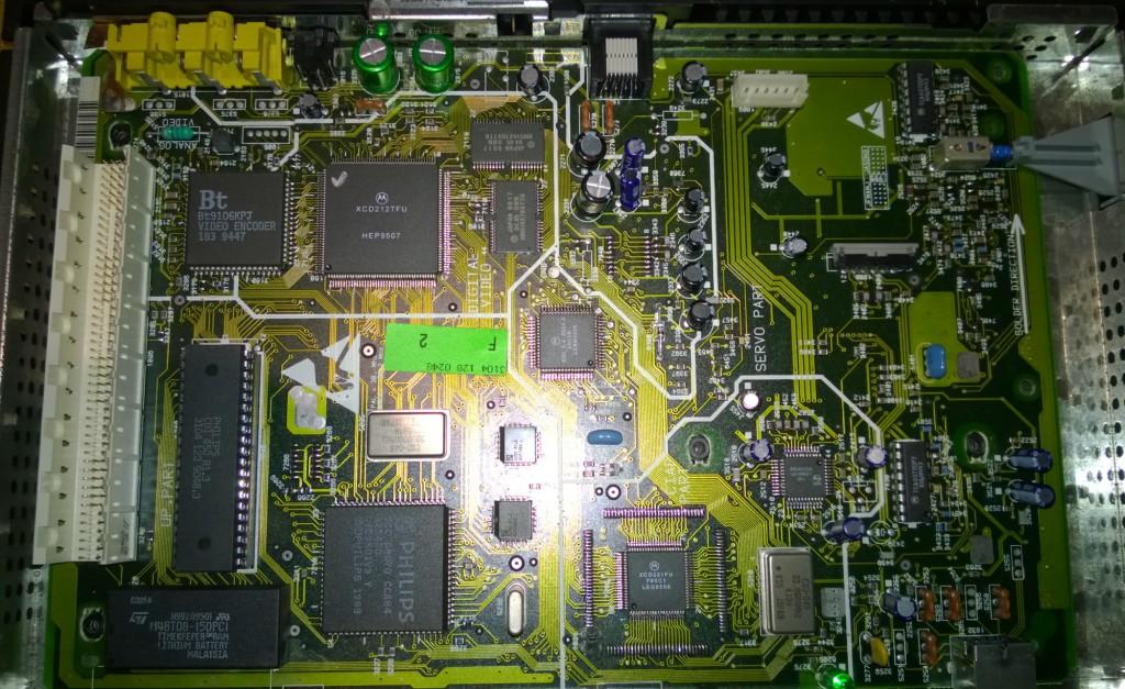 Philips CDI 550 Roboco PCB