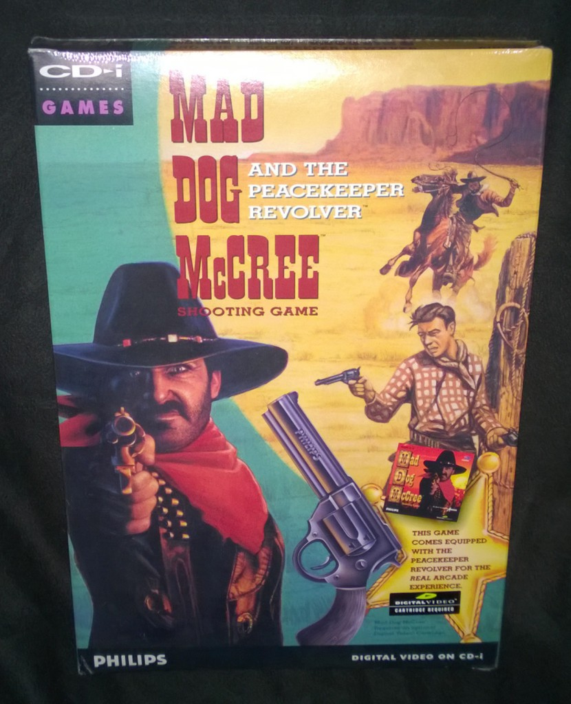 Mad Dog McCree and the Peacekeeper Revolver