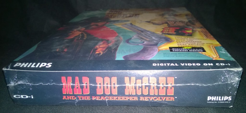 Mad Dog McCree shrink-wrap