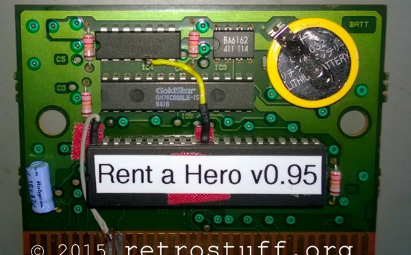 Rent a Hero Translation for Sega Mega Drive