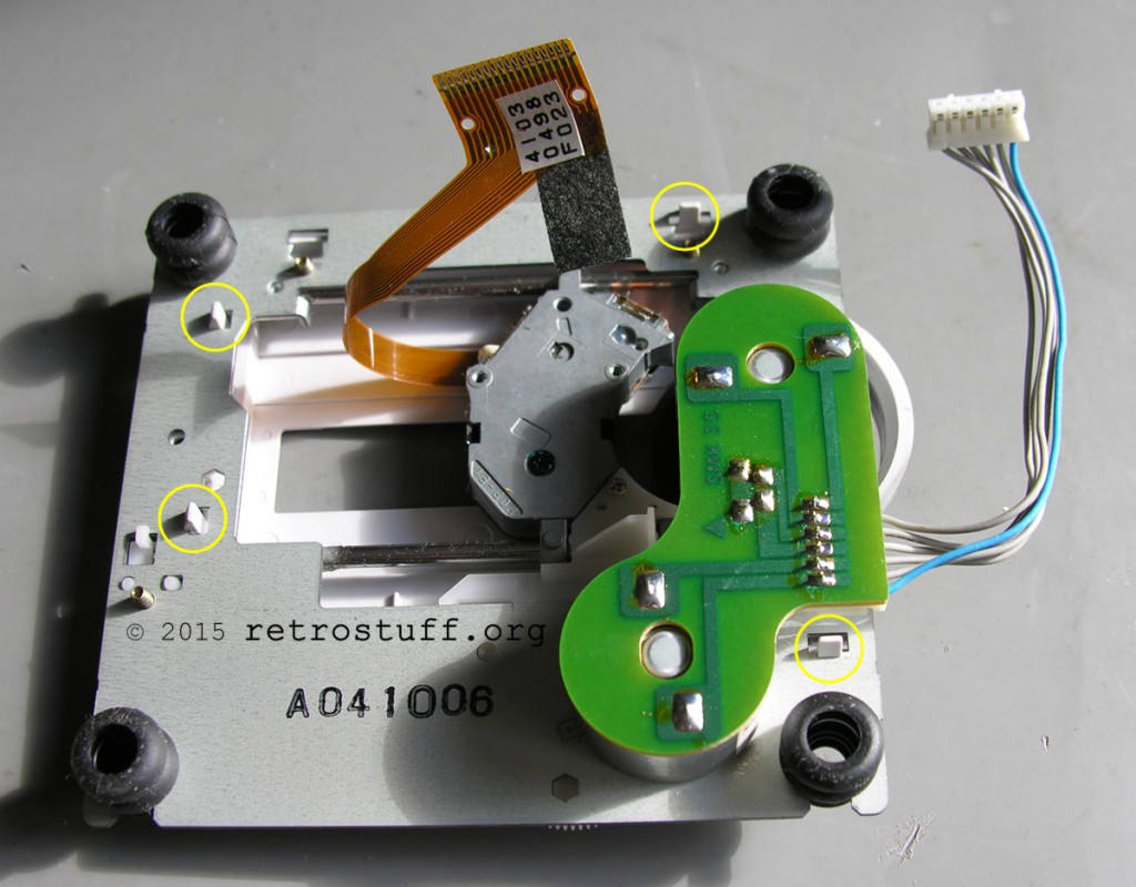 PC-FX CD drive unit