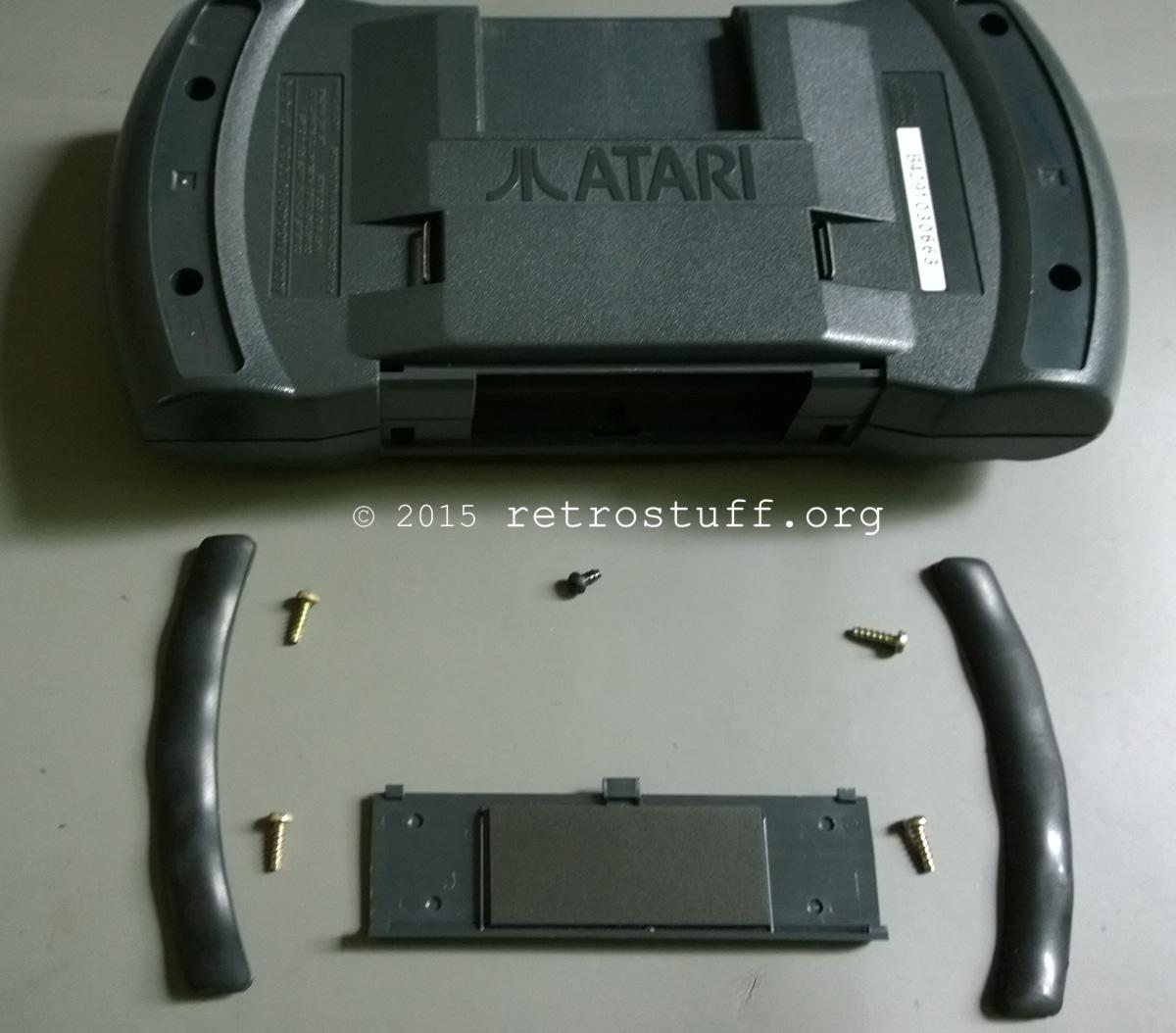 Atari Lynx II rubber feet