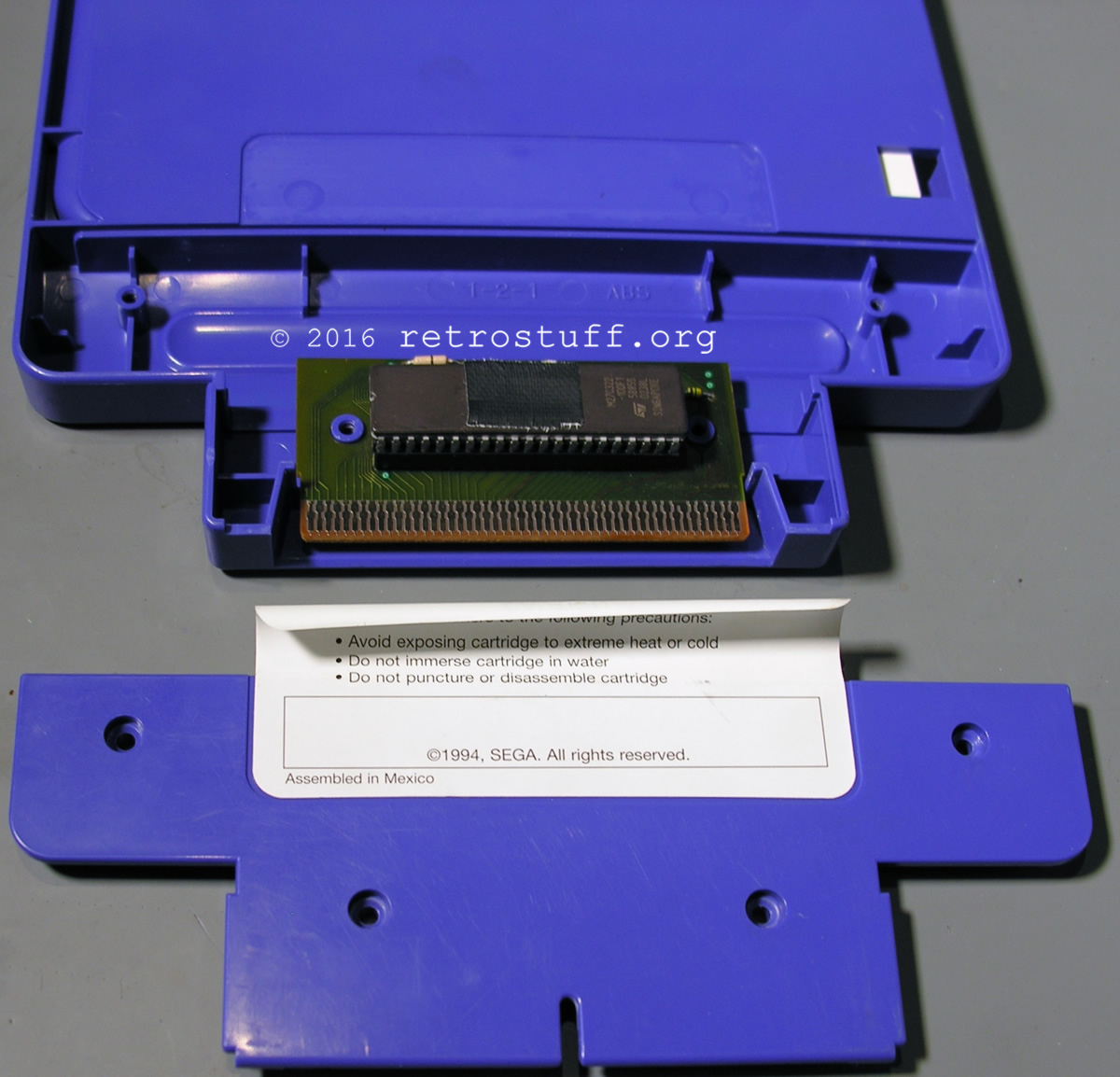 Sega Pico Flash Cart 12