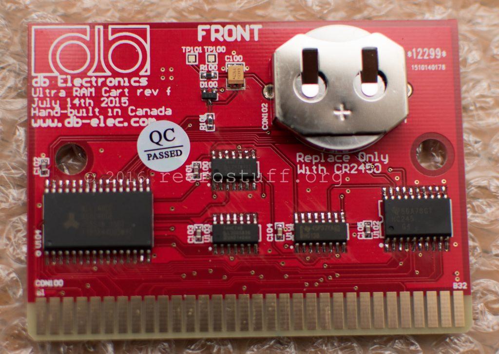 Sega CD Ultra Backup RAM