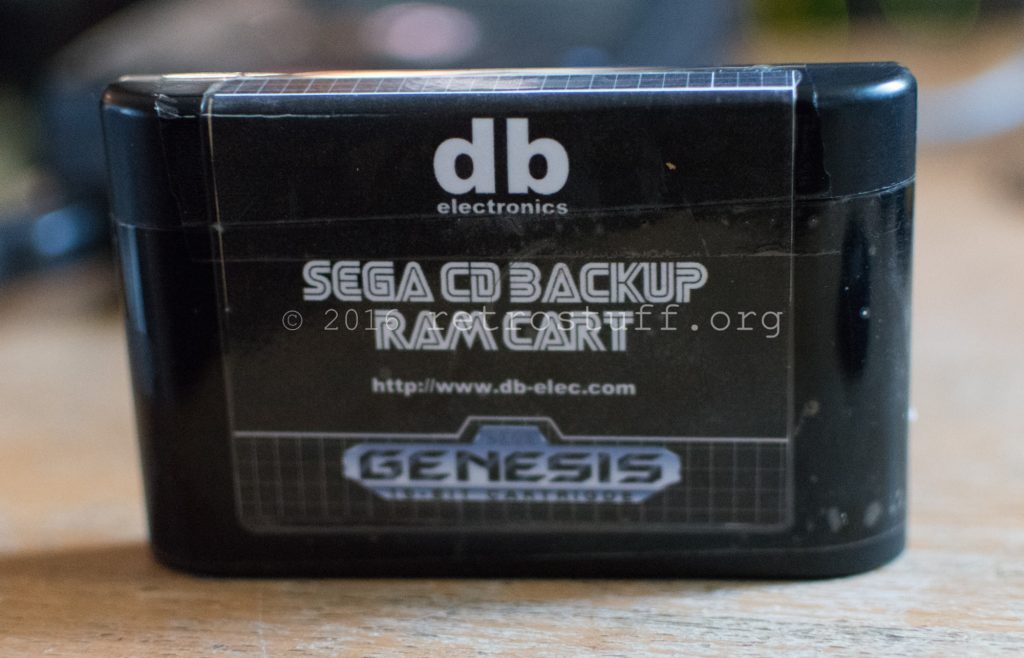 Sega CD Ultra Backup RAM
