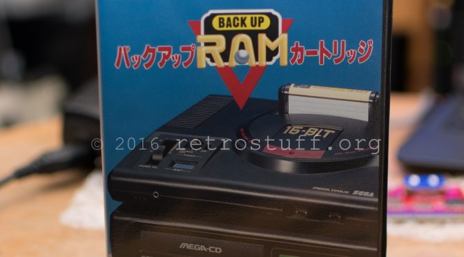 A new battery for the Sega CD BackUp RAM Cart