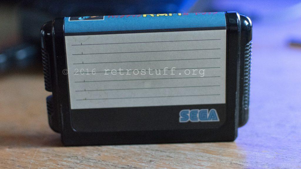 Sega CD BackUp RAM Cart