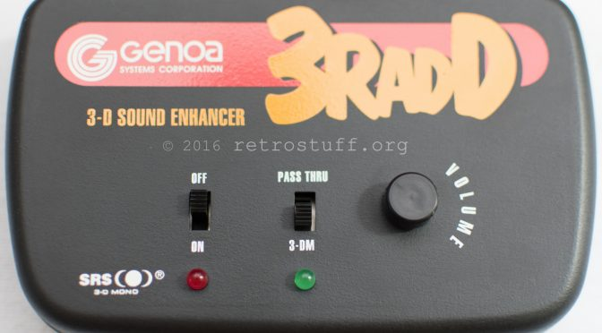 3RADD – The 3-D Sound For Video Games And PCs