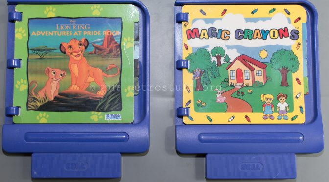 Two Donor Carts for Sega Pico Flash