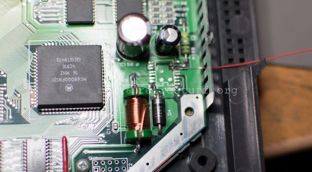 U38 solder pad repair