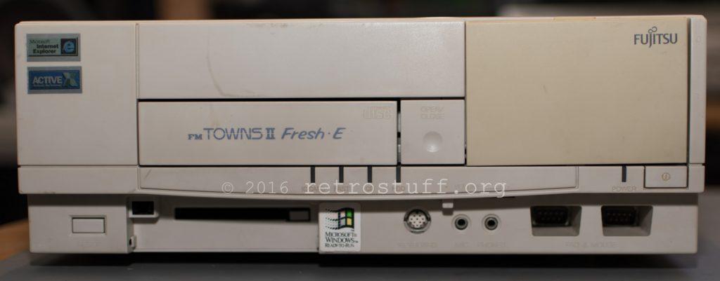 FM TOWNS II Fresh・E