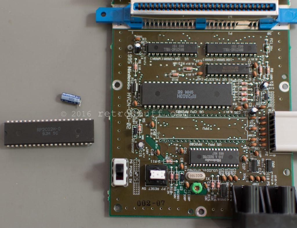 AV Famicom PPU