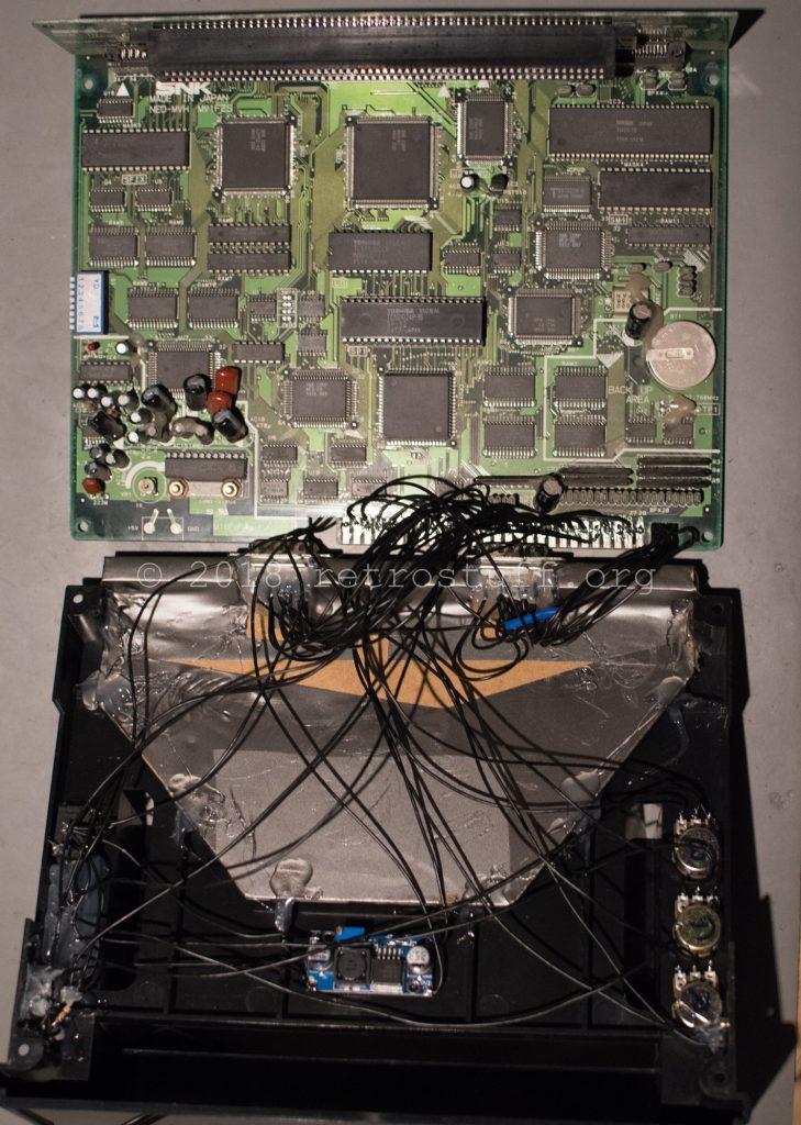 Consolized MV1FZS - inside