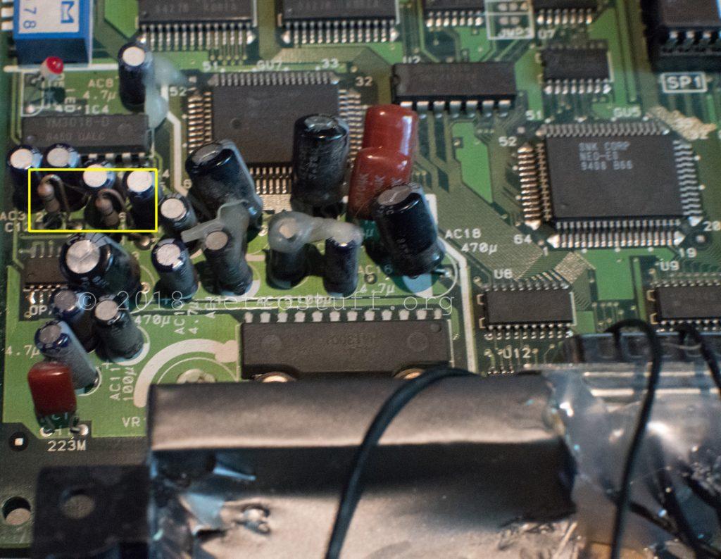 12V amp area