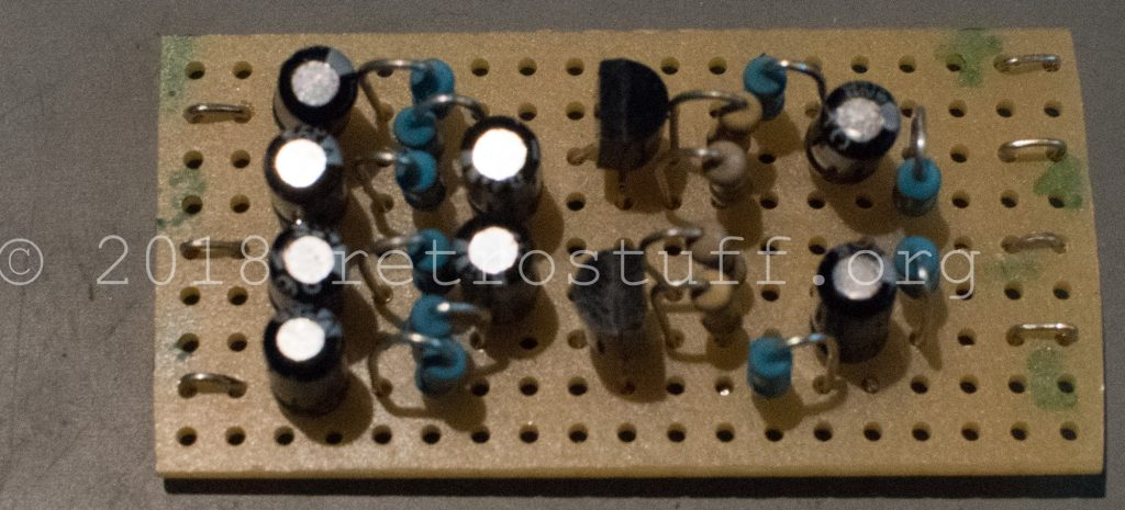 MKL audio mod PCB - front