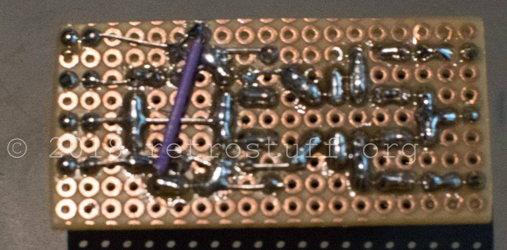 MKL audio mod PCB - back