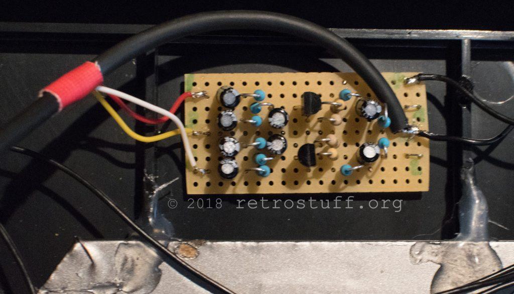 MKL audio mod PCB