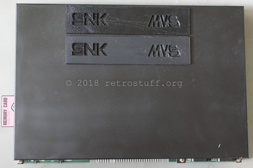 MV2FS Cartridge Slot Covers