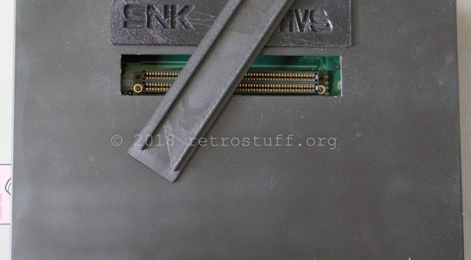 Neo Geo MV2FS Cartridge Slot Covers