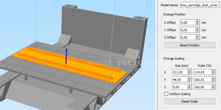 Change size in Simplify3D