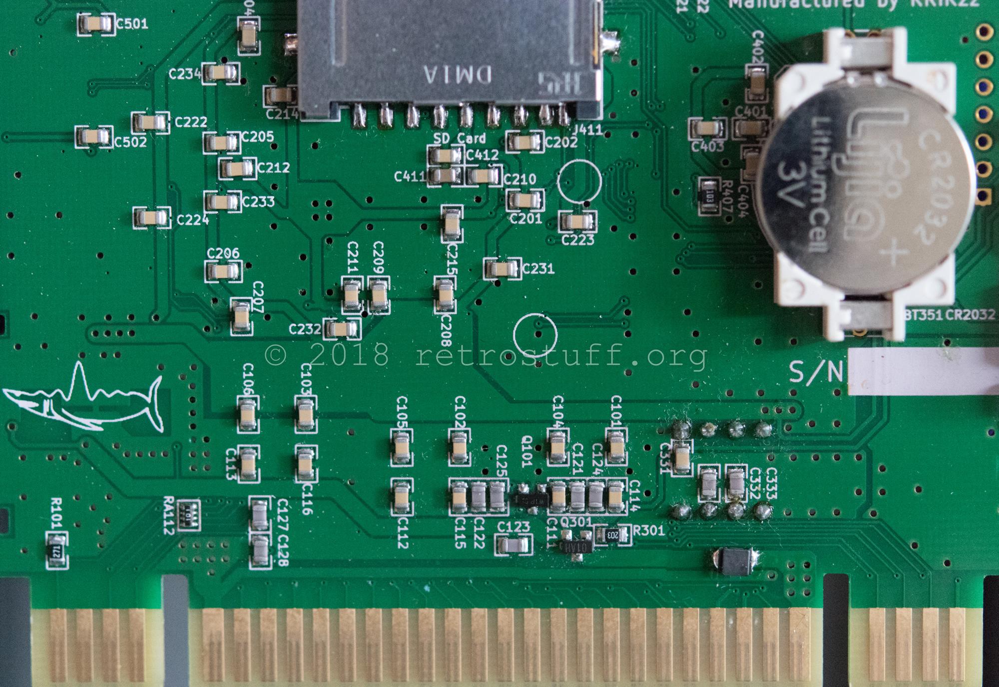 SD2SNES Rev  E1 Upgrade to Rev  H - retrostuff