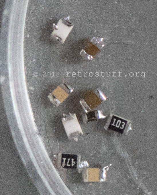 SD2SNES Rev. E removed components