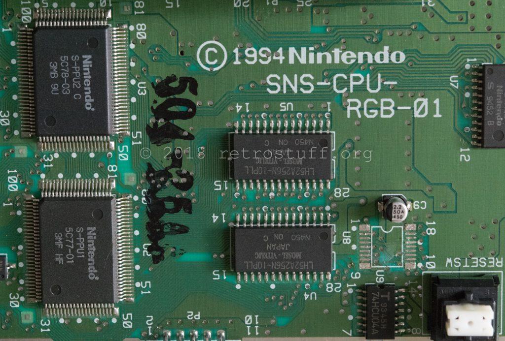 Super Famicom - CIC removed