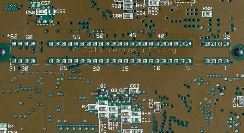Super Famicom - Cartridge port