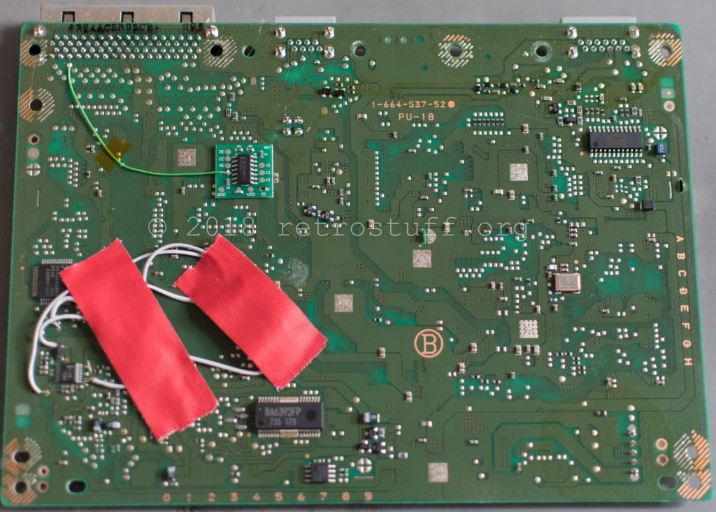 PSIO switch board installation