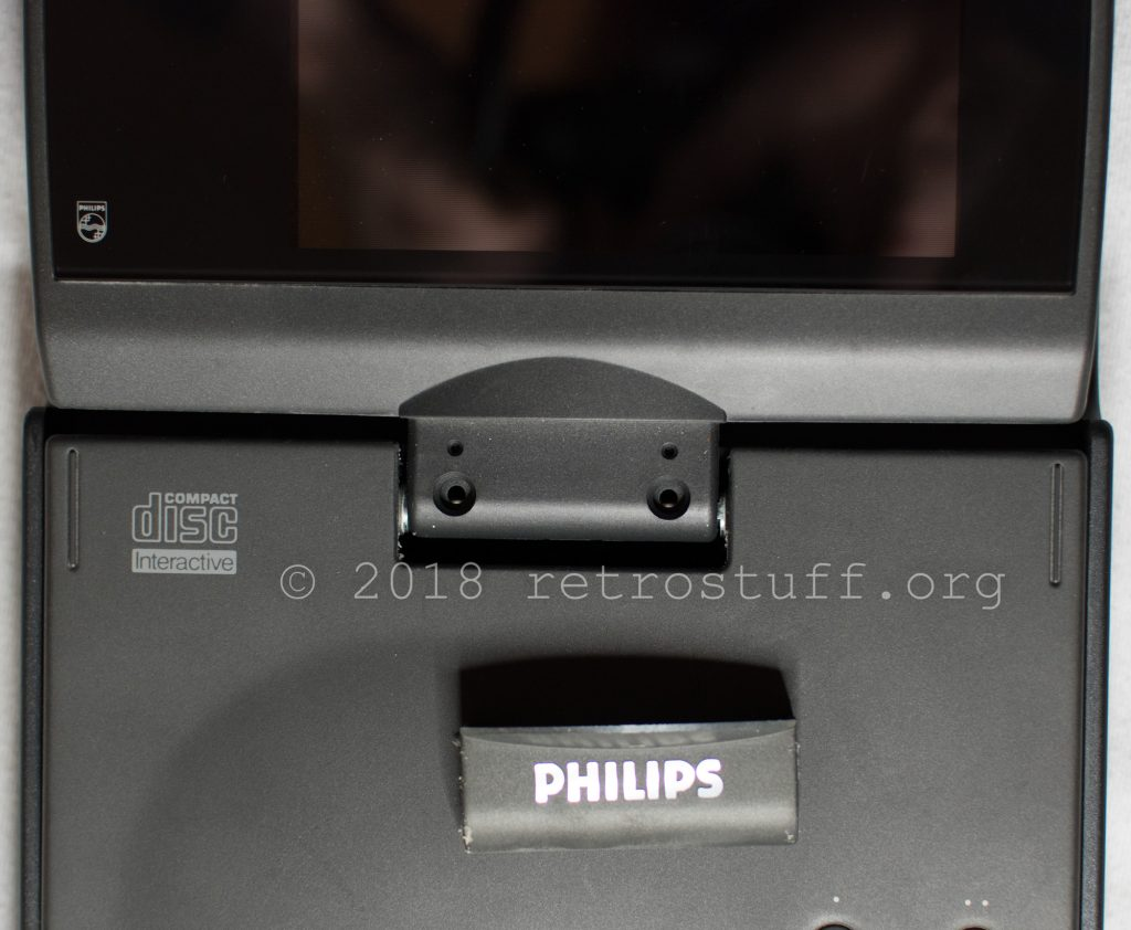 Philips CDI350 logo plate removed