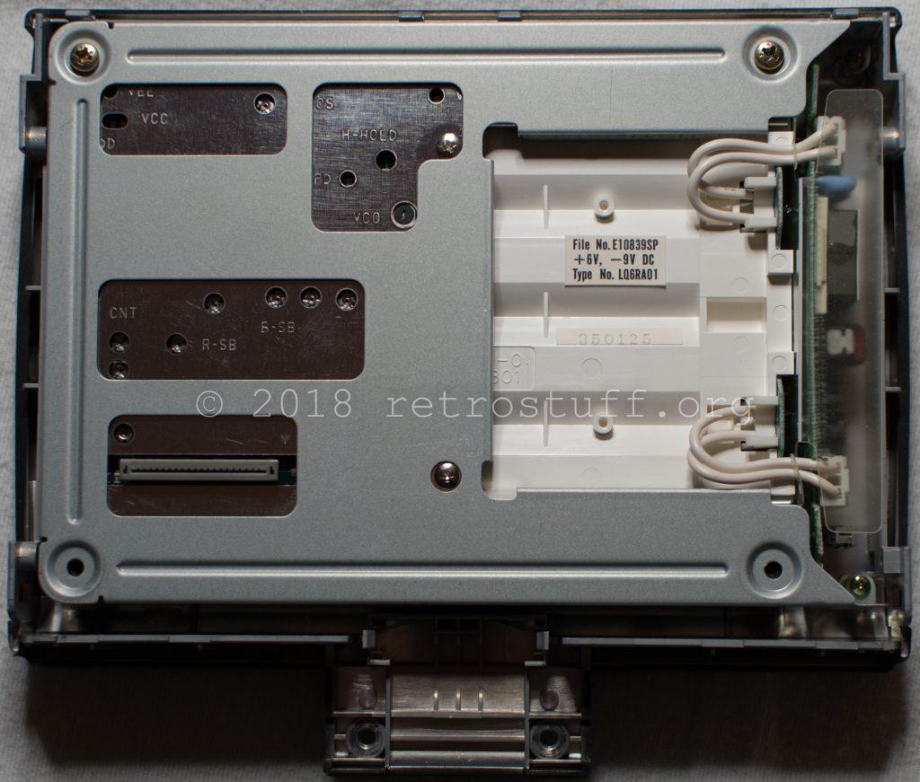 Philips CDI350 screen (inside)