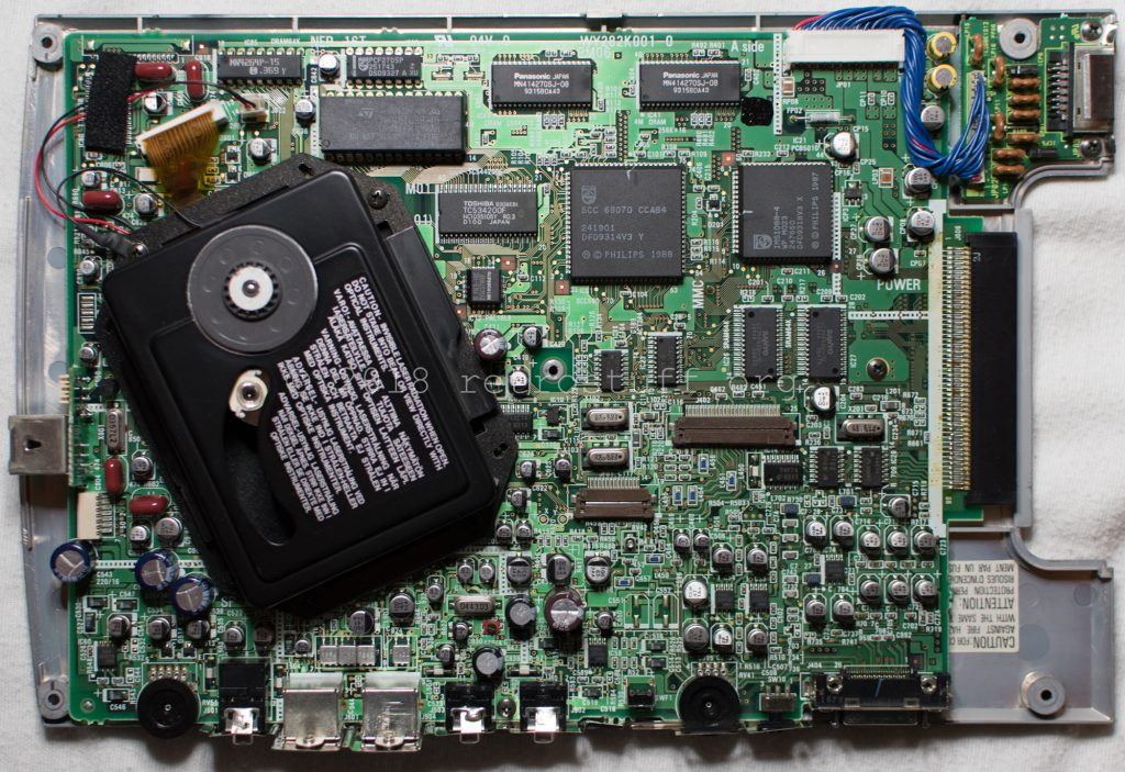 Philips CDI350 PCB and CDM