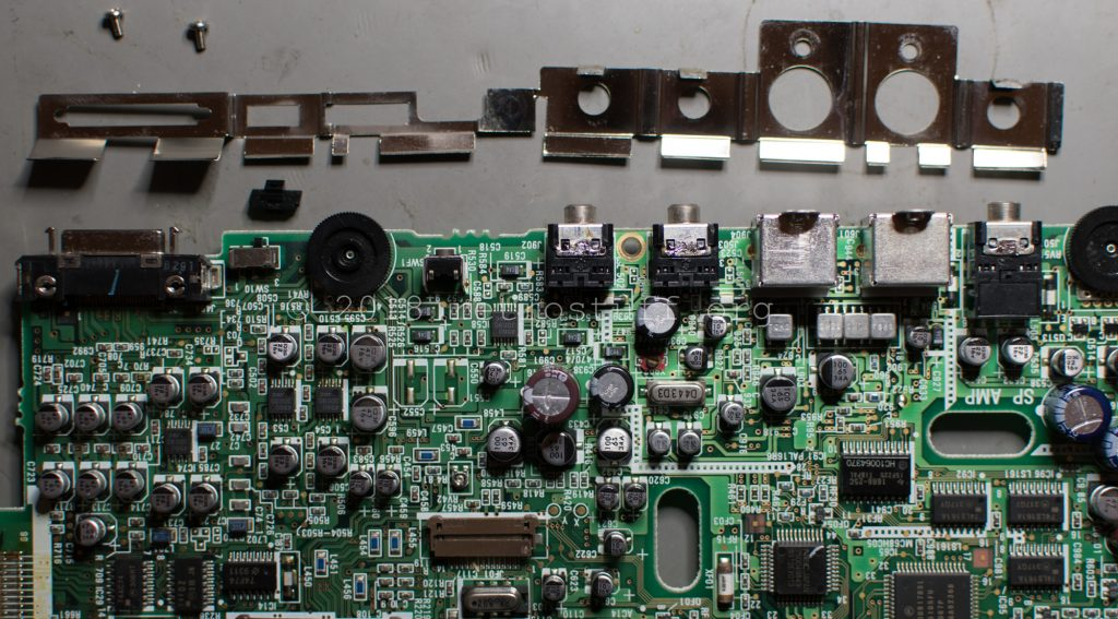 Philips CDI350 PCB (shield removed)