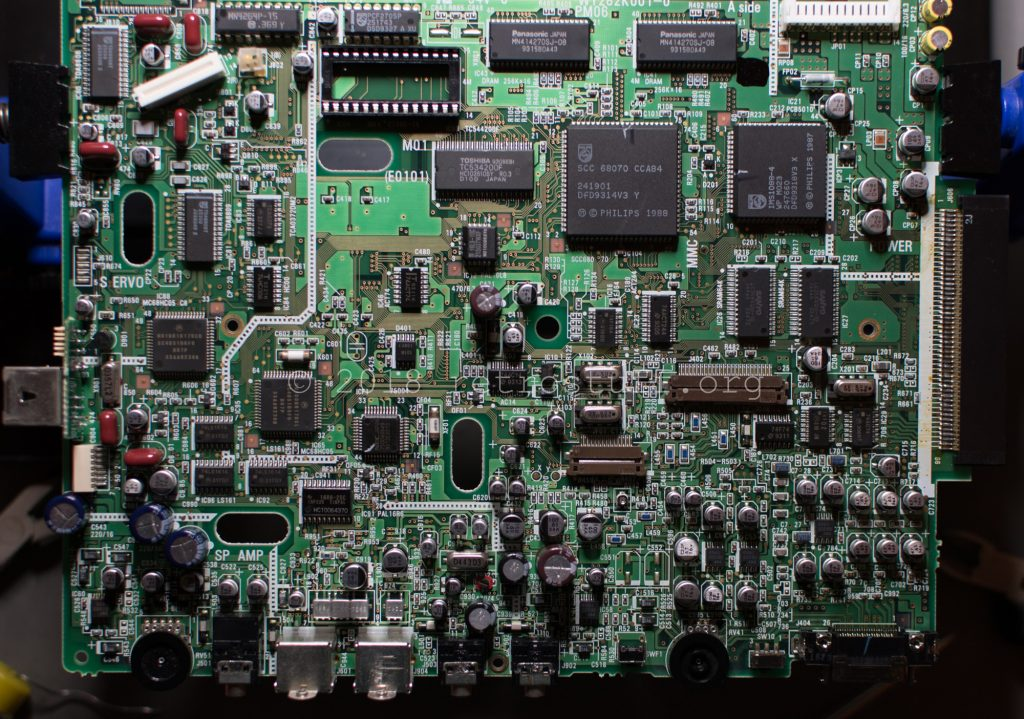 Philips CDI350 PCB (TimeKeeper socket)