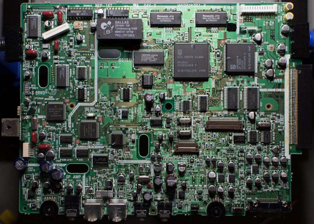 Philips CDI350 PCB (new clock chip)