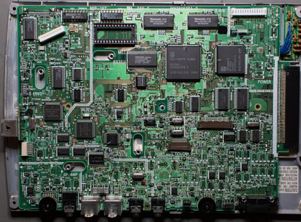 Philips CDI350 PCB (cleaned)